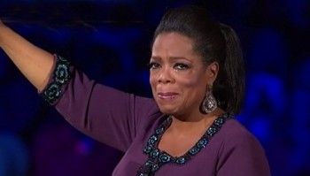oprah crying