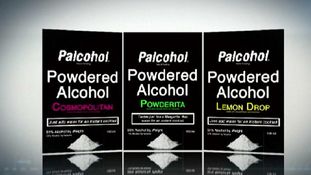 powder alcohol