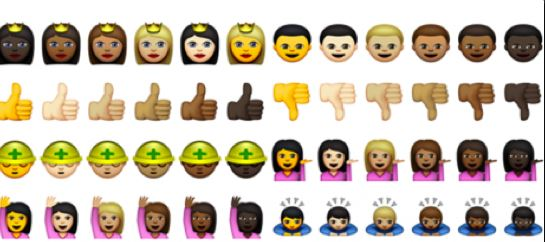 Apple Officially Release Racially Diverse Emojis