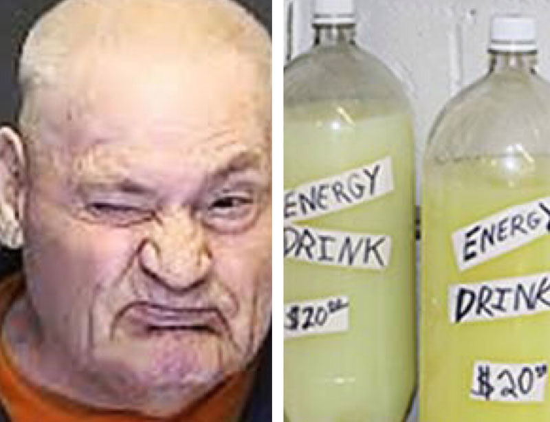 "Energy Drinks"" Laced with Meth"