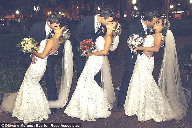 Identical Triplets Married