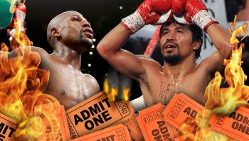 floyd and manny fights