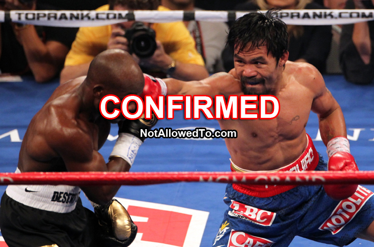Pacquiao Vs Floyd Rematch Confirmed