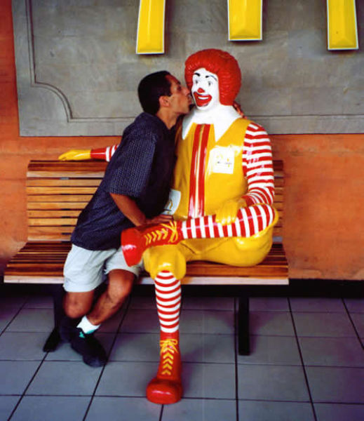 selfie with ronald