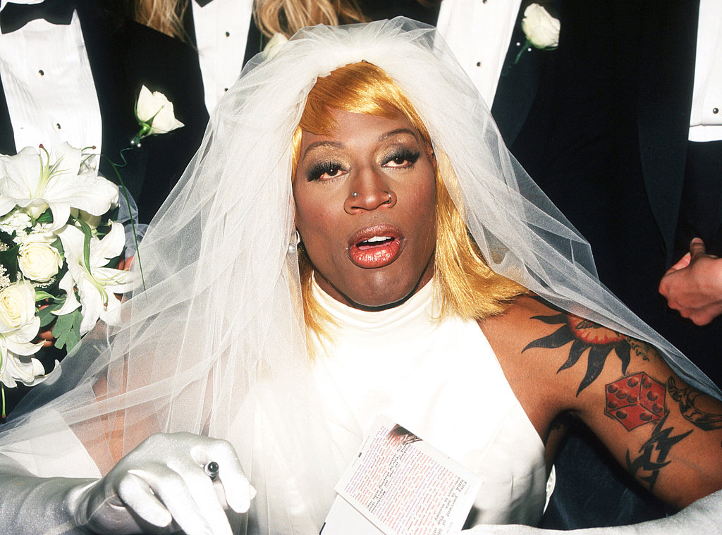 dennis rodman in dress