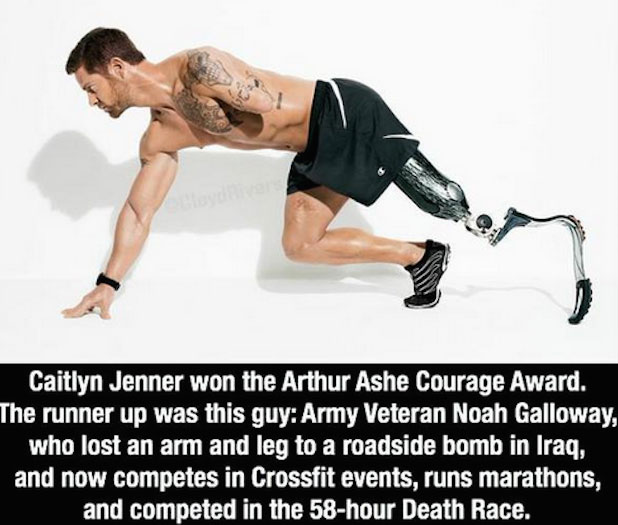 caitlyn jenner should should not have won the arthur ashe courage award News/discussion bruce jenner winning the arthur ashe award was  against why caitlyn should not have won  of courage that caitlyn jenner is.
