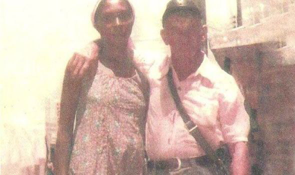 hitler with black girlfriend