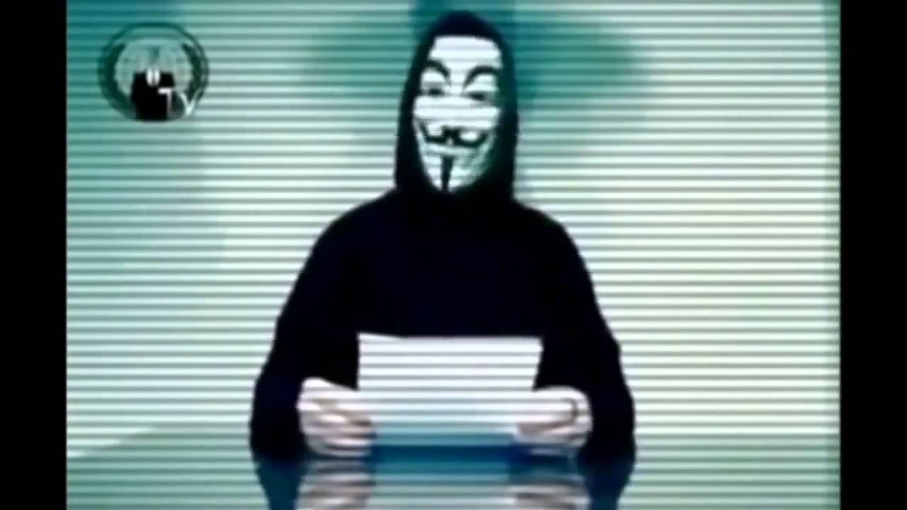 Anonymous Warns US