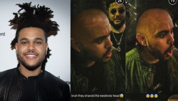 weeknd head