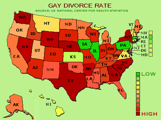 Gay Divorce Rate