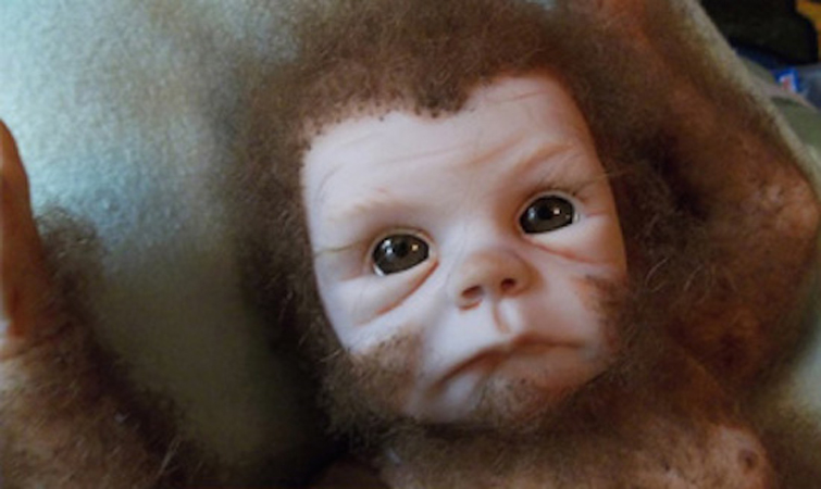 Human-Gorilla Hybrid Baby Born in INDIA - NotAllowedTo.com