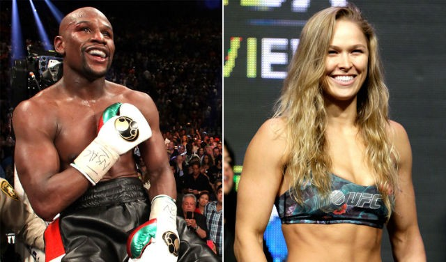 rousey sign mayweather