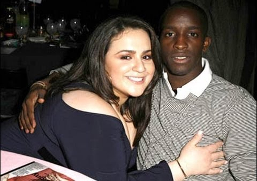 Black guy and white girl dating