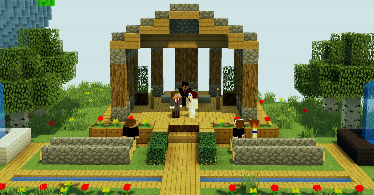 Couple Spends 250 000 On Minecraft Wedding