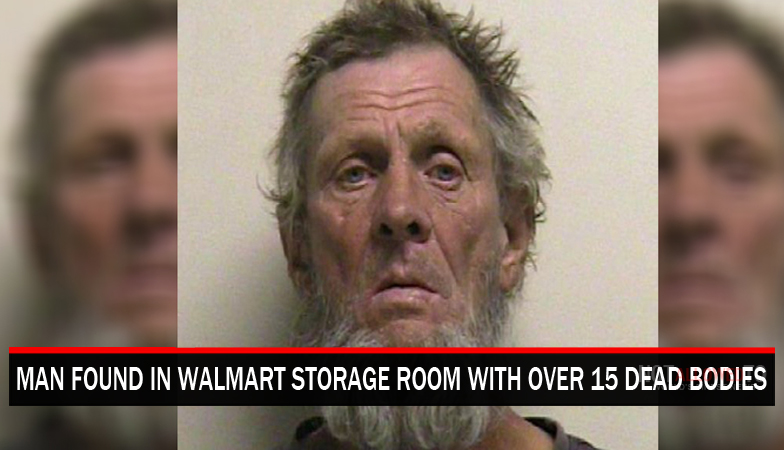 man caught in walmart