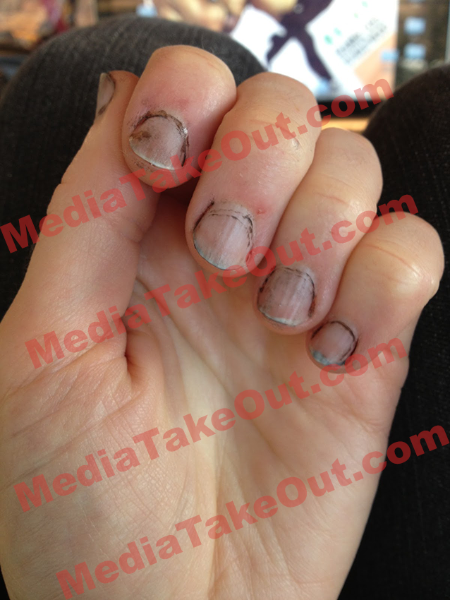 amber rose nails photo