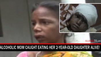 mother eats daughter