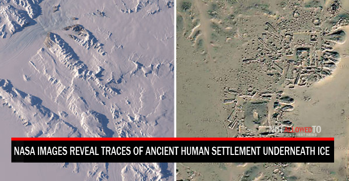 Nasa Images Of Antarctica Reveal Traces Of Ancient Human