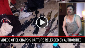 el chapo raid video