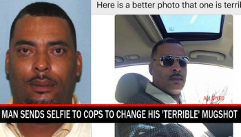 Man sends Selfe to police