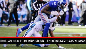 Odell Beckham Touched Me Inappropriately During Game Says Josh Norman