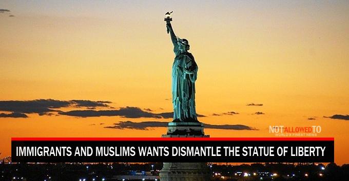 Goodbye Statue Of Liberty