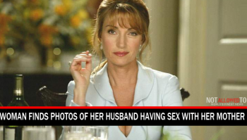 woman discovers cheating husband