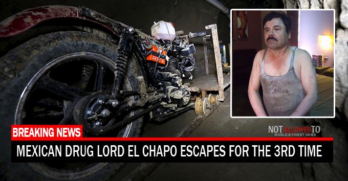 chapo escapes