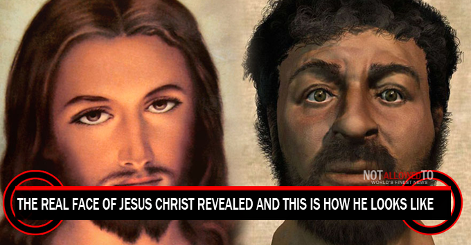 The Real Face Of Jesus Christ Revealed And This Is How He