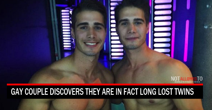 twin gay couple