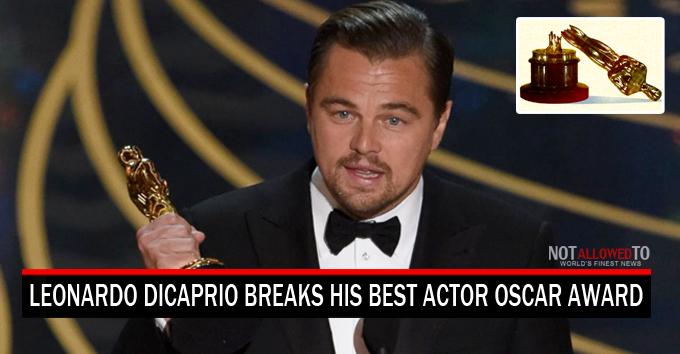 leo gets award