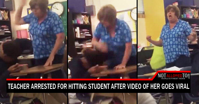 teacher beats student