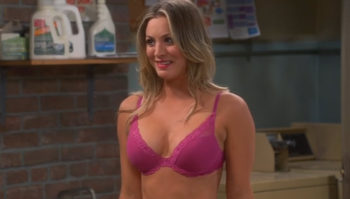 big bang theory girl