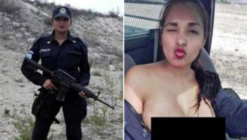 mexican woman officer suspended for posting selfie
