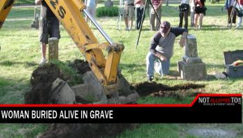buried alive in grave