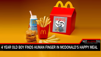 finger in happy meal
