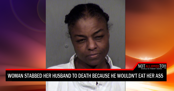 woman stabs husband
