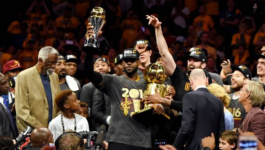 "LeBron James Brings Title to Cleveland ""NBA Basketball Game was Fixed"""